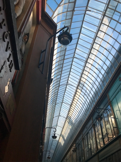 Tunnel vision: Because one shot of the Passage Jouffroy's glass ceiling is never, ever enough, here's one more. (Photo by Theadora Brack)