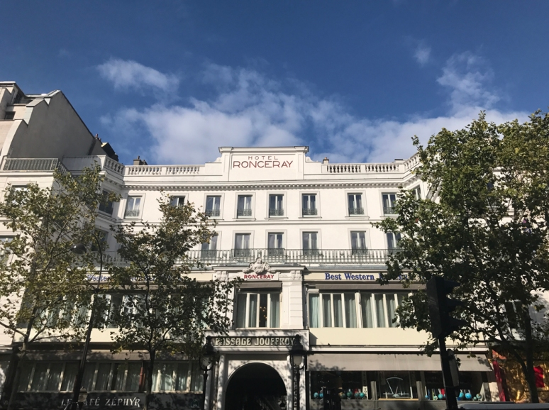 Keep on the sunny side: About twenty of the nearly 150 original arcades survived Baron Haussmann's urban redo in the 1850s and '60s. Passage Jouffroy is still a peep-pleasing promenade in 2019. (Photo by Theadora Brack)