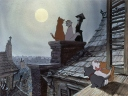 """Ever since watching Walt Disney's """"The Aristocats"""" movie, I've been obsessed with France and les chats domestiques (Image: Moviestillsdb.com)"""